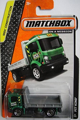 MATCHBOX CONSTRUCTION SERIES PIT KING #21 OF 120 IN THE COLLECTORS SERIES - 1