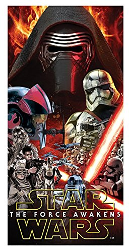 Star Wars The Force Awakens Beach Towel
