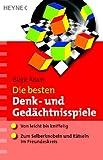 echange, troc Birgit Adam - Die besten Denk- und Ged+üñchtnisspiele