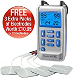 Premier Plus TENS Machine for pain relief - Combined with Muscle & Neuromuscular Stimulation