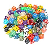100+ Pack of Random Polyhedral Dice i…