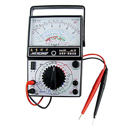 0.25V-1000V Ac Ohm Amp Dc Volt Analog Multitester Multimeter