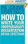 How to Write your Undergraduate Disse...
