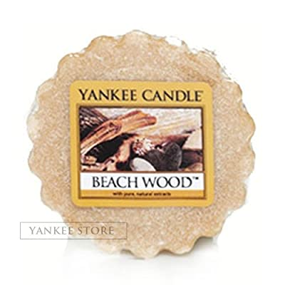 Yankee Candle Beach Wood Wax Tart from Scented Candle Shop