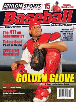 2013 Athlon Sports MLB Baseball Preview Magazine- St. Louis Cardinals Cover at Amazon.com
