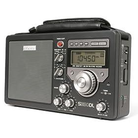 Eton S350DL AM/FM Shortwave Deluxe Radio Receiver (Black) (Discontinued by Manufacturer)