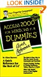Access 2000 for Windows for Dummies Q...