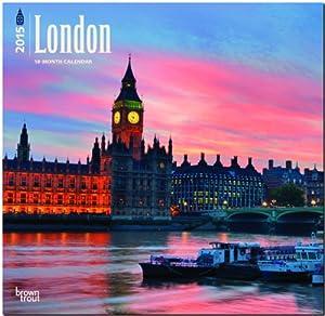 London 2015 Wall Calendar