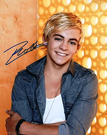 Ross Lynch of R5 reprint signed solo photo #2 Austin & Ally at Amazon