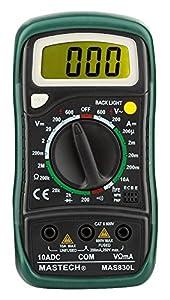 Mastech MAS830L Digital Multimeter - Multi meter with Probes (Original)
