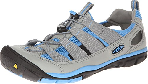 Keen Women'S Gallatin Cnx Water Shoe,Neutral Gray/Azure Blue,9 M Us front-961969