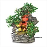 Serene Splendid Forest Bonsai Garden Water Fountain