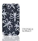 Ultra Case Twinkle for iPhone4 (Black) ウルトラケース トゥウィンクル ブラック黒 トンボ アイフォン4用ハードケース
