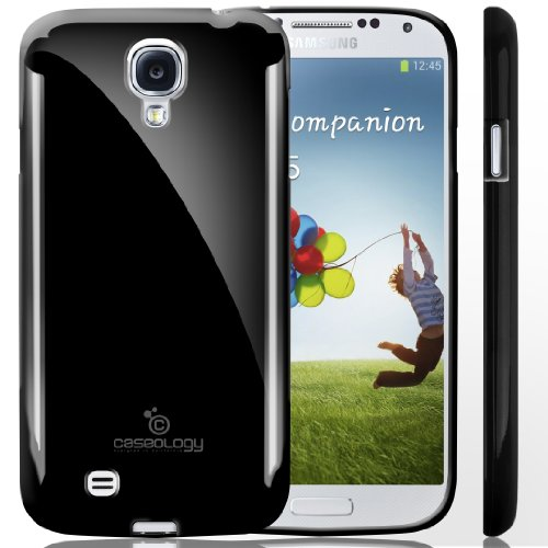 Galaxy S4 Case, Caseology [Drop Protection] Samsung Galaxy S4 Case [Black] Slim Fit Tpu Cover [Shock Absorbent] Armor Bumper Galaxy S4 Case (For Samsung Galaxy S4 Verizon, At&T Sprint, T-Mobile, Unlocked) front-556350