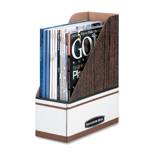 Bankers Box Magazine File Holders, Letter, 12 Pack (07223)