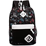 Unisex Vintage Casual Daypack Fashion Pack Canvas Travel Hiking Backpacks Campus School College Bookbag Rucksack Gym Shoulder Bag Portable Carry Case Bag Valentines Day Gift for Teenage Girls/Boys 45cm*30cm*13cm