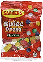 Sathers Spice Drops, 9.75 Ounce (Pack of 12)