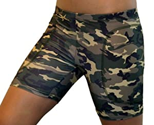 Buy Camouflage Softball Sliding Shorts (2 Colors) by Gem Gear