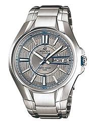 Casio Edifice Analog Silver Dial Men's Watch EF-133D-7AVDF (EX086)