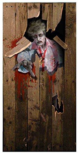 Photo-Realistic Zombie Door Cover