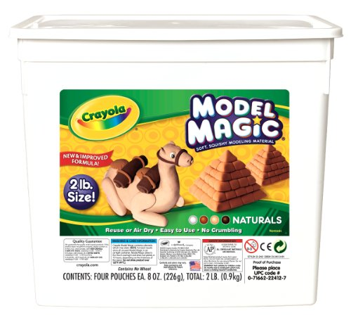 Crayola 23-2412 Crayola Model Magic Naturals, 2 Lbs. (Model Magic compare prices)