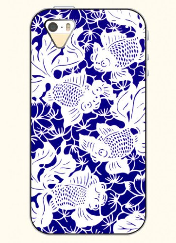 Oofit Phone Case Design With Goldfish In Blue For Apple Iphone 4 4S 4G
