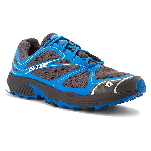 Vasque Men's Pendulum II Gore-Tex Trail Running Shoe, Magnet/Brilliant Blue,10 M US