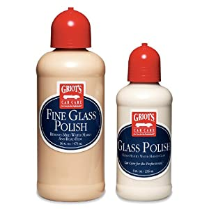 Griot's Garage 11074 Glass Polish, (Set of 2) by Griot's Garage