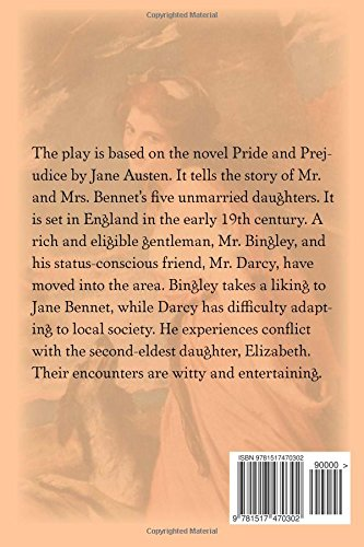 Pride and Prejudice - A Play