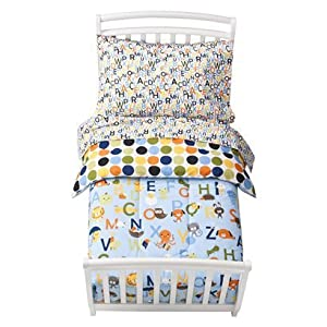 Circo 174 Toddler 4 Piece Abc Bedding Set Blue Special