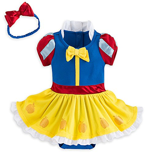 Disney Store Deluxe Snow White Baby Costume Outfit & Headband (18-24M) (Snow White Costume For Infant)