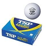 TSP ヤマト卓球 40mm+ 3スターボール 014025 1ダース入り ホワイト