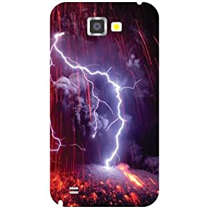 Samsung Galaxy Note 2 N7100 Back Cover - Glary Designer Cases