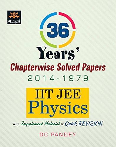 36 years iit jee solved papers pdf