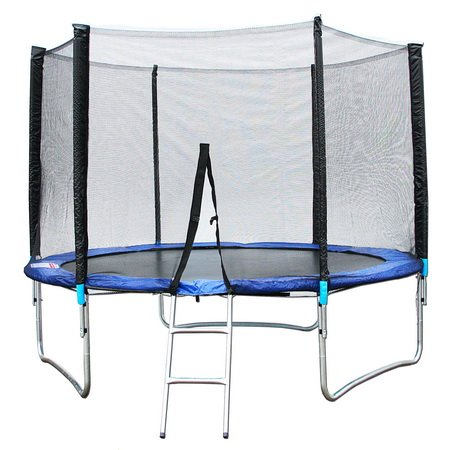 hudora trampolin buy xxl trampolin gartentrampolin 3 05 meter komplett set inkl plane leiter. Black Bedroom Furniture Sets. Home Design Ideas