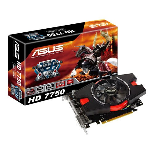 51D8%2BLeEPYL ASUS HD7750 1GD5 V2 AMD Radeon HD 7750 VGA 1 GB GD