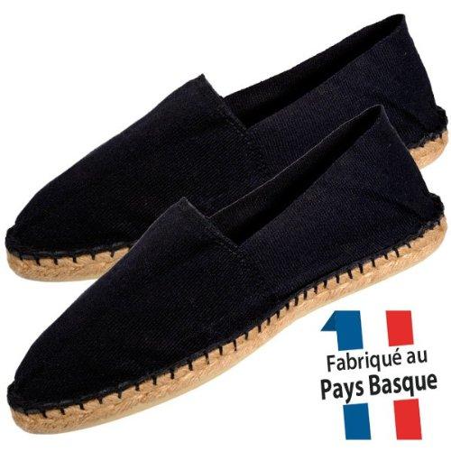 Mohair-Confort-Espadrilles-homme-noires