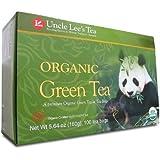 Uncle Lee's Organic Green Tea -- 100 Tea Bags net wt 5.64 oz (160g)