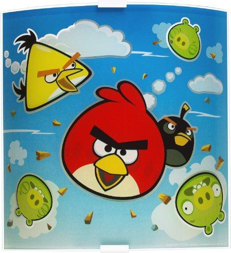 Dalber Lampe de Chevet - Applique Murale - Angry Birds
