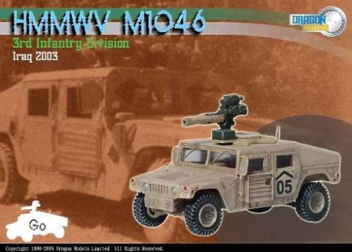 Buy Hummer M1046, 3rd Infantry Division, IRAQ 2003 1-72 Dragon Armor