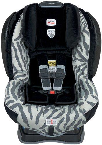 Britax Advocate G4 Convertible Car Seat, Zebra front-984186