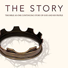 The Story, NIV: The Bible as One Continuing Story of God and His People Audiobook by  Zondervan Bibles (editor) Narrated by Michael Blain-Rozgay, Allison Moffett