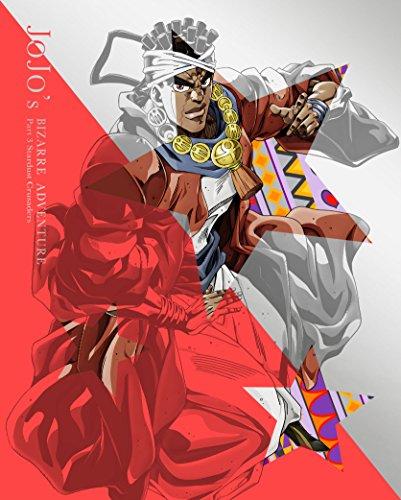 【Amazon.co.jp限定】ジョジョの奇妙な冒険スターダストクルセイダース Vol.3 (オリジナルデカ缶バッチ付 アヴドゥルver) (承太郎&スタープラチナ3Dマウスパッド付)(初回生産限定版) [Blu-ray]
