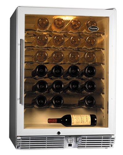 Vinotemp 60 Bottle Wine Cellar, White