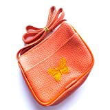 Girls Orange Butterfly Bag/Purse IN6845