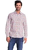 Desigual Cromitomi - Chemise casual - Taille normale - Col classique - Manches longues - Homme