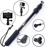 ActionSports-Aluminum-Waterproof-Telescoping-Monopole-for-GoPro-Cameras