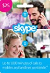 $25 Skype Credit Gift Card [Online Code]