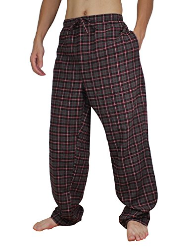 Stafford Mens Cotton Plaid Sleepwear / Pajama Pants Xxlt Multicolor