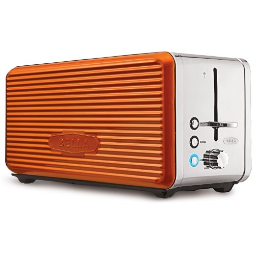 Linea Collection 4-Slice Long Slot Toaster